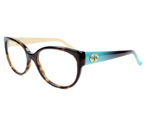 Gucci frame GG 3558 L50 Acetate Havana - Turquoise - Beige by Gucci