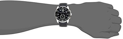 Cartier Men s W7100056 Analog Display Swiss Automatic Black Watch
