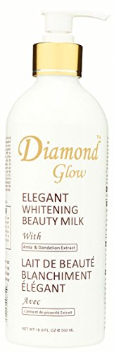 Diamond Glow Elegant Whitening Beauty Milk with Amla & Dandelion 500ml