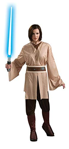Rubie's Women's Star Wars Jedi Costume, Brown,