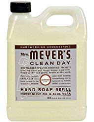 Mrs. Meyers Clean Day Hand Soap Refill, Lavender 33 oz (Pack of 3)