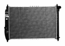 TYC 2873 Chevrolet Aveo 1-Row Plastic Aluminum Replacement Radiator by TYC