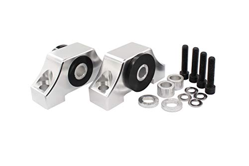 Sliver Engine Billet Motor Torque Mount Bracket kit for B16 B18 B20 D16