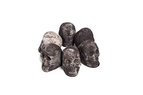 Ceramic Fire Pit Skulls and Bones | Fireproof