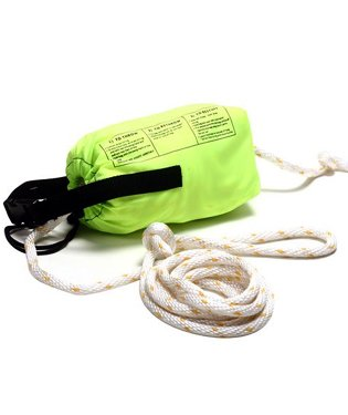 Trident Safety Throw Rope with 70 ft of Hi-Viz Floating Line For Scuba Diving and Water Sports