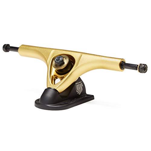 Paris Savant 180mm 43 Degree Longboard Trucks - Black/Gold ()