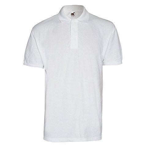 Premium 100% Cotton Polo (weiss) (S)