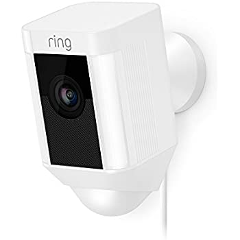 Amazon Com Ring Spotlight Cam Wired Plugged In Hd