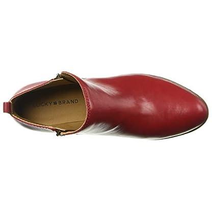 Lucky Brand Women's LK-Basel Ankle Boot, Garnet, 6.5 5