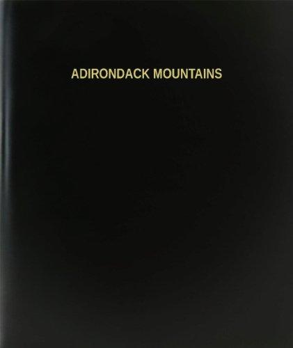 (BookFactory Adirondack Mountains Log Book/Journal/Logbook - 120 Page, 8.5