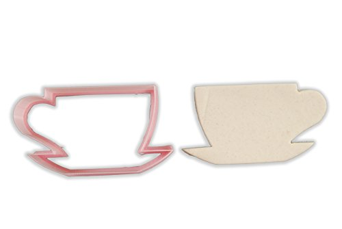 (Tea Cup Cookie Cutter - LARGE - 4 Inches)