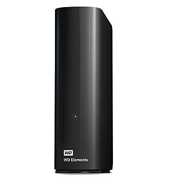 WD 4TB Elements Desktop External Hard Drive - USB 3 0