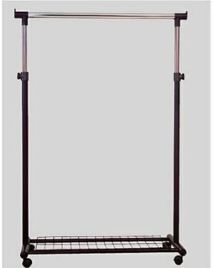Amazon.com: Portable coat hanger rack with casters great for coat