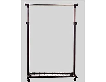 Portable Coat Hanger Rack With Casters Great For Check