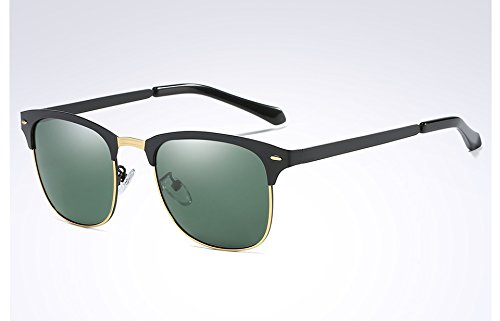Guía hombres gafas black green Classic Frame TL sol de ropa negro dark oscuro polarizadas gafas Black para sol Sunglasses tonos verde de hombres 64FqqwBf