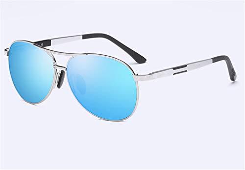 Las señoras los Las de Sombras Diseñador de señoras Sol XIYANG Estilo Hombres la de de Blue de Manera de Retro UV400 la Gafas de Lente Las Negra Tn7wZYqw0