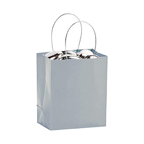 Mini Silver Gift Bags (2 dz)]()