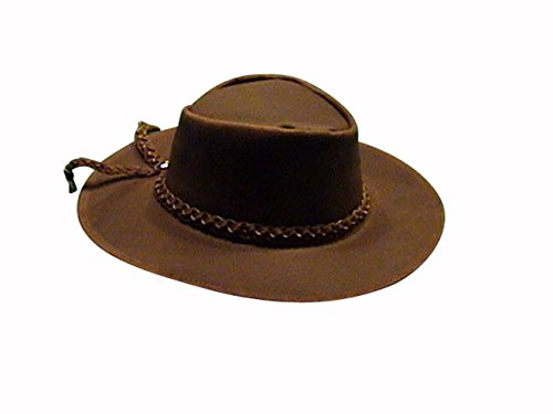 Sharpshooter Clint Eastwood Good Bad Ugly Brown Leather Cowboy Hat