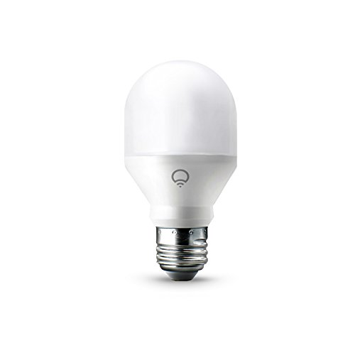 LIFX Mini (A19) Wi-Fi Smart LED Light Bulb, Adjustable, Multicolor, Dimmable, No Hub Required, Works with Alexa, Apple HomeKit and the Google Assistant, Pack of 4 by LIFX