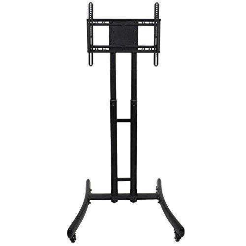 Luxor / H. Wilson FP1000 Adjustable Height TV Cart for 32