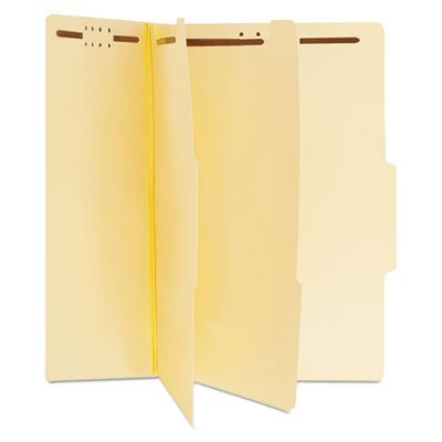 Manila Classification Folders, Letter, Six-Section, 15/Box, Sold as 15 Each