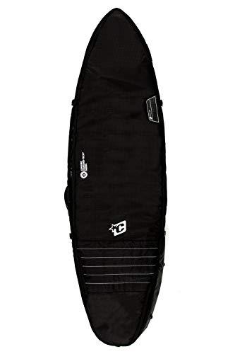 (Creatures of Leisure Triple Shortboard Cover Bag - Black White)