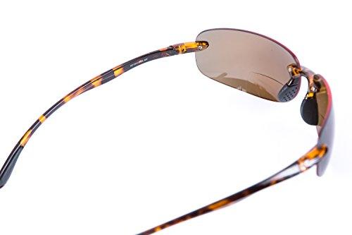 Maui' soleil de Lunettes 2 Non double Unisexe monture 'Lovin nbsp;Paire Polarized verres Black TR90 à Tortoise nbsp;léger polarisants de foyer CXWXw7qB