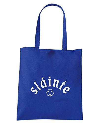SLAINTE Royal Shopper Blu TIR0188 Borsa SHAMROCK TIOqU5W