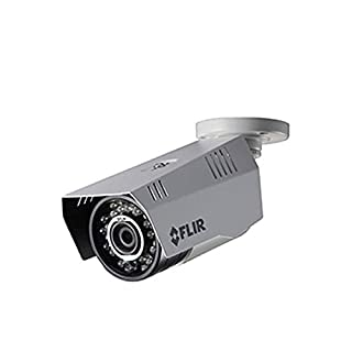 FLIR Digimerge C233BC Outdoor Weatherproof 4-in-1 Security Bullet Camera, 1.3MP HD MPX WDR Camera, 3.6mm, 70ft Night Vision, Works with AHD/CVI/TVI/CVBS/Lorex, Flir MPX DVR, White (Camera Only)