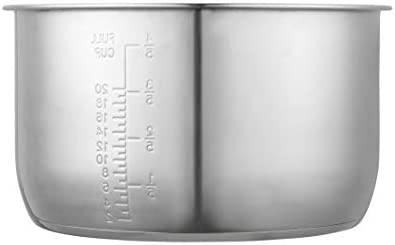 """""""GJS GOURMET STAINLESS STEEL INNER COOKING POT COMPATIBLE WITH 10 QUART POWER COOKER XL, PPC790 (OR #PPC790), PPC773 (OR #PPC773), AND WAL4"""". THIS POT IS NOT CREATED OR SOLD BY POWER COOKER."""