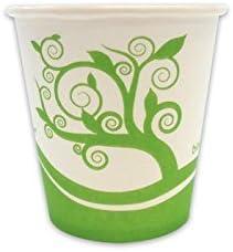 Vasos ml 200, compostables de papel biodegradable para café ...