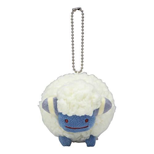 Pokemon Center: Ditto Mareep Plush Keychain, 5 Inch