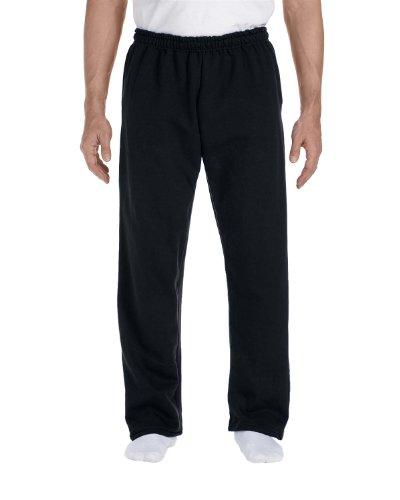 Gildan Mens 9.3 oz. DryBlend 50/50 Sweatpants G123 -BLACK XL