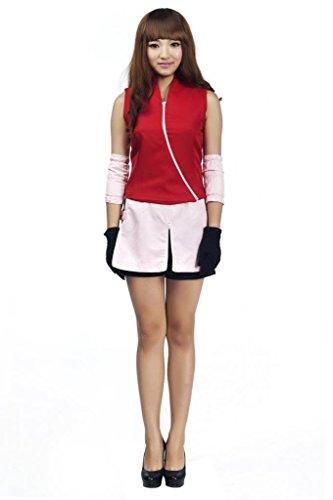 Mtxc  (Haruno Sakura Cosplay Costume)