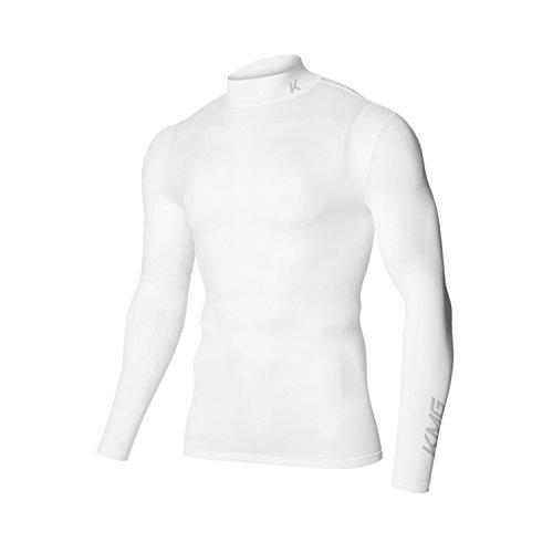 KMG Men's Golf Shirts メンズ ゴルフ スポーツ シャツ 冷感ウェア