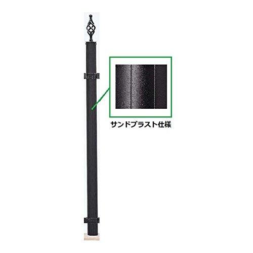 YKKAP シャローネシリーズ トラディシオンフェンス1B型 サンドブラスト間仕切り柱 中柱 T200 BFC-1 『アルミフェンス 柵』 グラングレイ B0719P7H7Y