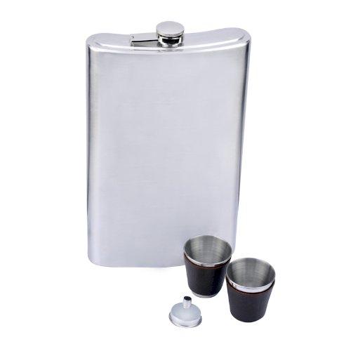(Top Shelf Flasks Huge Giant Flask Stainless Steel, 64 oz)