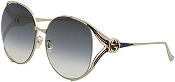 Gucci Blue Gradient Square Sunglasses
