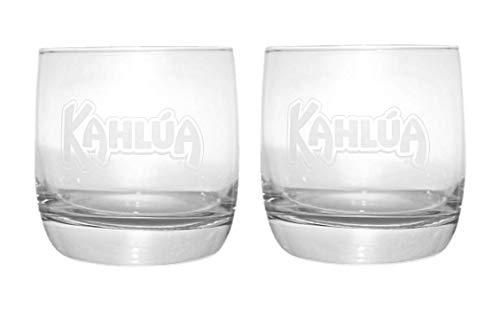 Kahlua Coffee Liqueur Glass Set of 2 Cocktail Tumbler