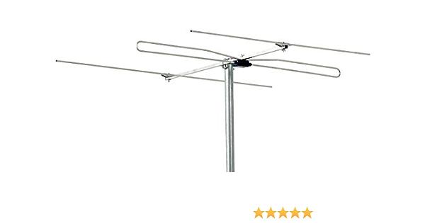 Triax BII - FM 3 6dB - Antena (Aluminio, 6 dB, FM, SC, 75 Ω, 16 dB)