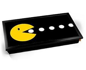 Pac-Man Eating Laptop Lap Tray Cojín Bandeja para Portátil