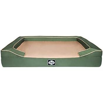 Amazon.com : Sealy Dog Bed Lux Elite Pet Dog Bed, Quad