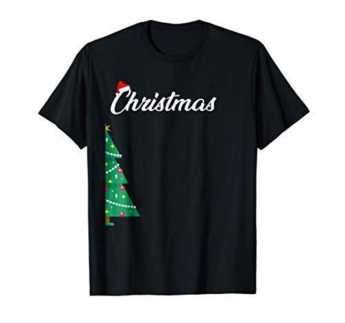 Merry Christmas Tree Funny Matching Couples Christmas Pajama