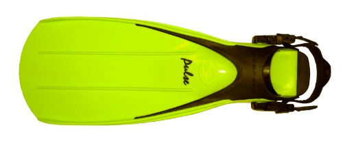 - Deep See Pulse Fin (Neon Yellow, Large (Men's 9-10))