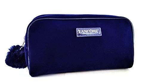 Lancome Royal Blue Fabric Bag for Cosmetics, Makeup, Toiletries, Travel, Storage