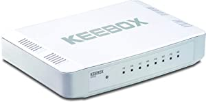 KEEBOX SFE08 8-Port 10/100Mbps Fast Ethernet Switch
