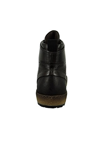Mjus Herren - Sneaker 309201-0101-0001 Cacao Braun Bil Echtleder Schwarz