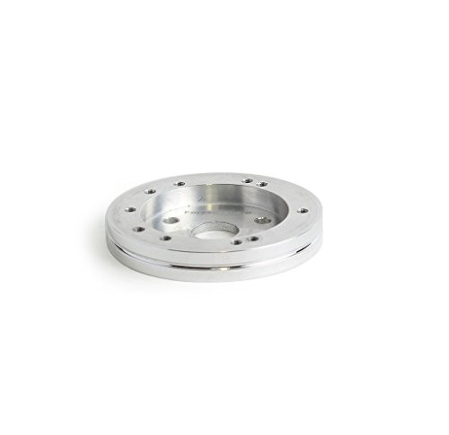 1/2 Inch 5/6-Hole Polished Aluminum Steering Wheel Spacer for 3 Hole Adapter