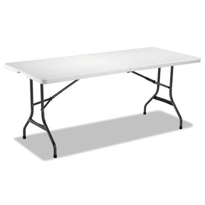 ALEFR72H - Fold-in-Half Resin Folding Table by Alera