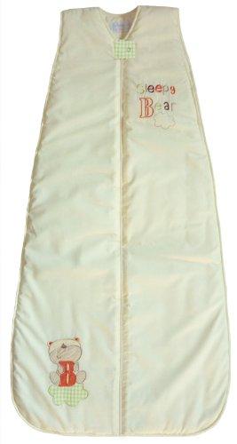 LIMITED TIME OFFER! The Dream Bag Baby Sleeping Bag Sleepy Bear 6-18 Months 0.5 TOG - Cream